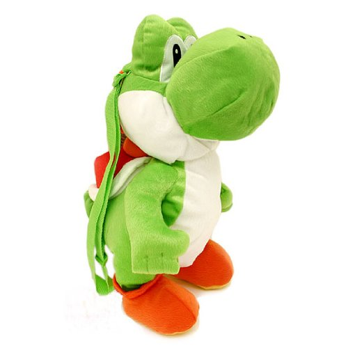 Yoshi Plush Backpack - Large - 19""