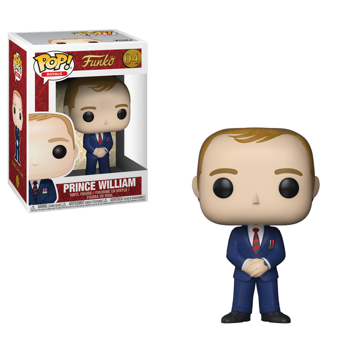 Pop! Royals: Prince William #21951 Vinyl Figure