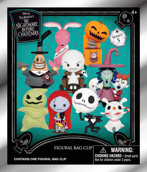 Nightmare Before Christmas: 3-D Figural Key Chain Blind Bag