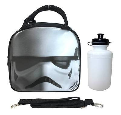 Disney Star Wars The Force Awakens Storm Trooper Insulated Black Lunch Bag