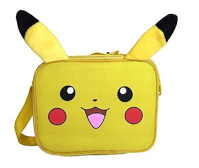"Pokemon - Pikachu 10"" Insulated Lunch bag with Ears"