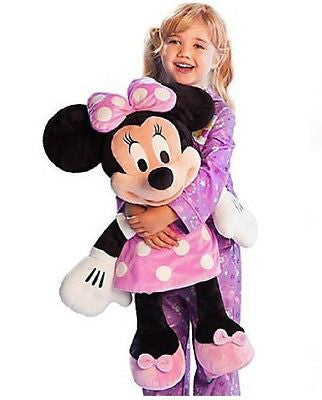 Disney Store Minnie Mouse Authentic Plush Large Stuffed Animal 27""