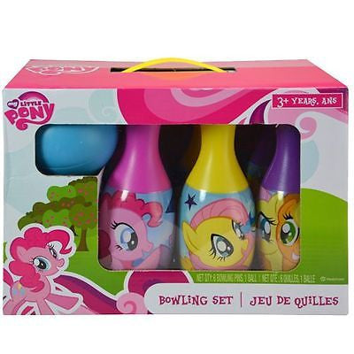 My Little Pony Bowling Set Toy Game Kids Birthday Gift Toy 6 Pins &1 Ball