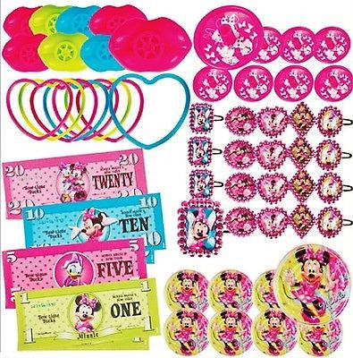 Disney Minnie Mouse 48 Piece Party Favor Pack Party Favors Supplies