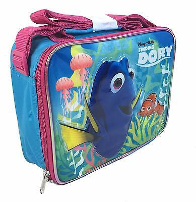 Disney Pixar Finding Dory Nemo Insulated Lunch Bag with shoulder straps