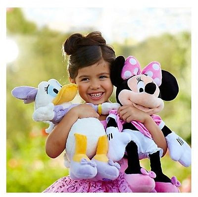 "Disney Minnie Mouse 19"" inch Plush Doll Authentic Patch"