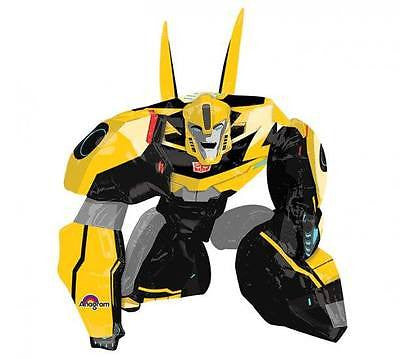 "Transformers Bumble Bee Airwalker 34"" x 47"" Tall Birthday Party Jumbo Balloon"