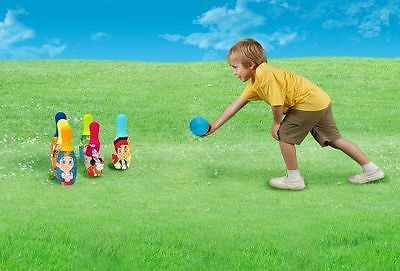Disney Jakes Adventure Toy Bowling Set ~Licensed Product~ Holiday Gift