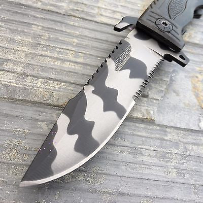 Tac Force Speedster URBAN CAMO Serrated Blade Rescue Folding Pocket Knife