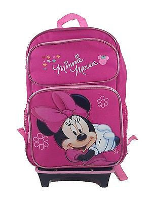 Minnie Mouse Rolling Backpack
