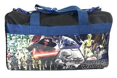 Disney Star Wars Darth Vader 600D Polyester Duffle Bag PVC Side Panels
