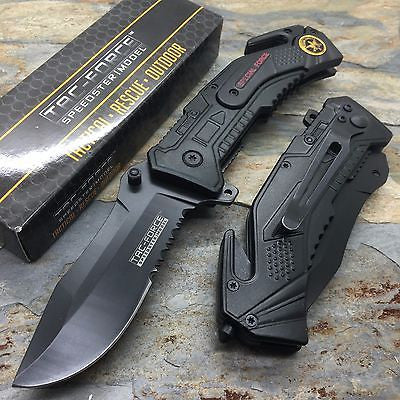Tac Force Special Force Outdoor Camping Rescue Knife Survival Pocket Knife