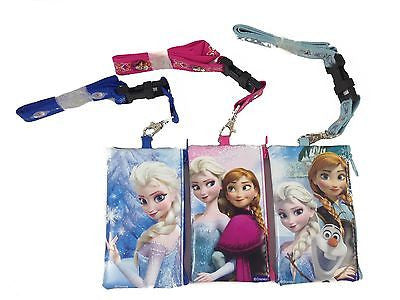 Frozen Lanyard Card Holder