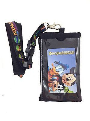 Teenage Mutant Ninja Turtles Lanyard Card Holder - Black