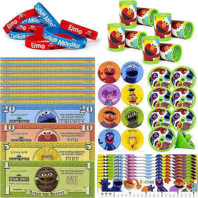 Sesame Street Elmo 48 Piece Party Favor Pack Party Favors Supplies