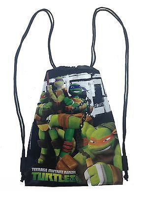Ninja Turtle Drawstring Backpack
