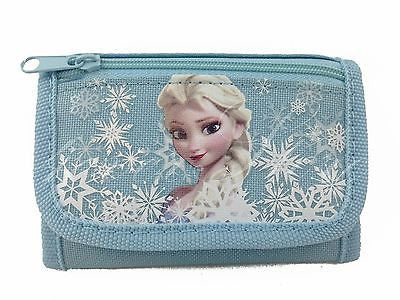 Disney Frozen Princesses Elsa Tri-Fold Wallet [Baby Blue]