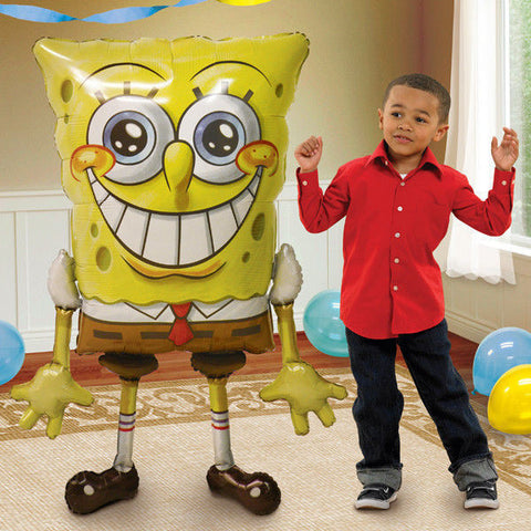 "Spongebob Squarepants Airwalker 46""Jumbo Foil Balloon Birthday Party"