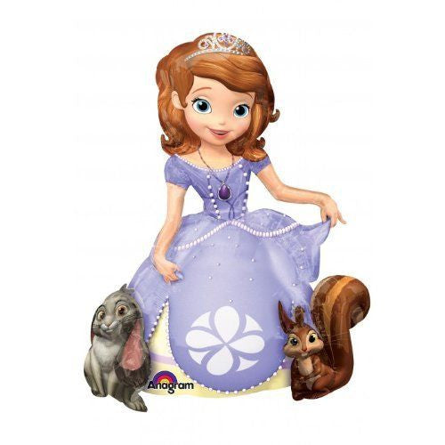 "Gaint Princess Sofia The First 3D Airwalker 54"" Jumbo Foil Balloon Party Supplie"