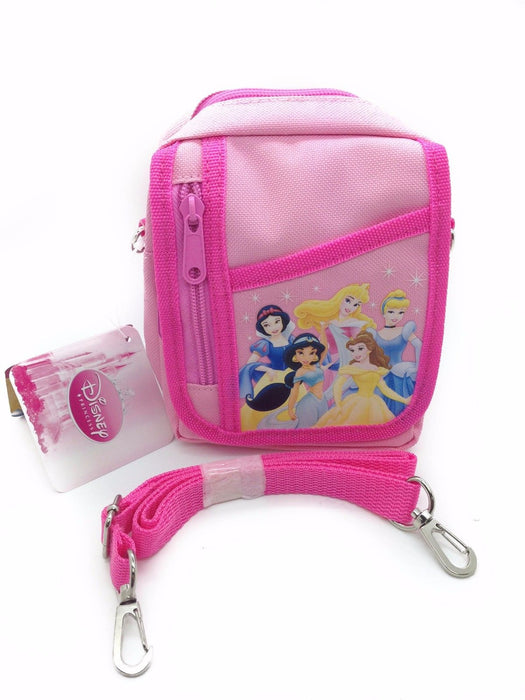 Disney Princess Light Pink Camera Pouch Bag Wallet Purse with Shoulder Strap