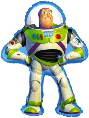 "Disney Toy Story Buzz Light year Jumbo 29"" inch SuperShape Foil Mylar Balloon HELIUM NOT INCLUDED"
