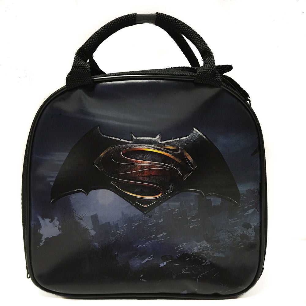 DC Comics Batman VS Superman Sign Insulated Lunch Bag w/ Water Bottle
