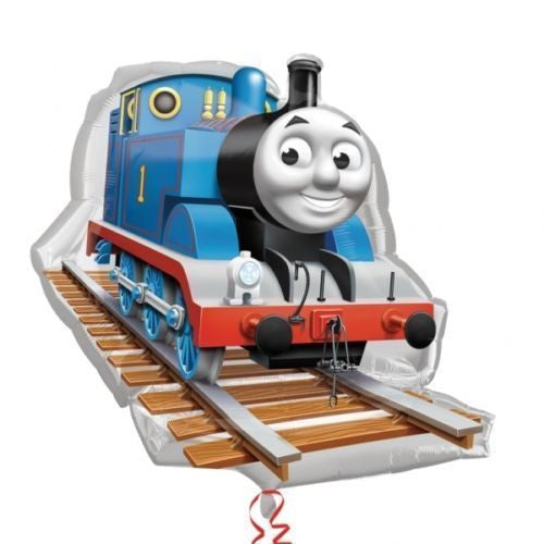 "Thomas The Tank Train Jumbo 30"" inch SuperShape Foil Mylar Balloon"