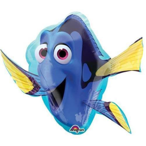 "Disney Pixar Finding Dory Jumbo 30"" inch SuperShape Foil Mylar Balloon"