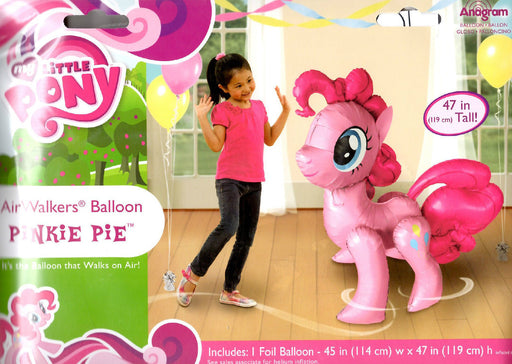 "My Little Pony Pinkie Pie 47"" 3D JUMBO AIRWALKER PARTY BALLOON PARTY SUPPLIES"