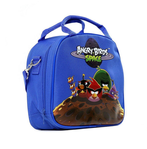 Rovio Angry Bird Shoulder Strap Blue Insulated Lunch School Bag