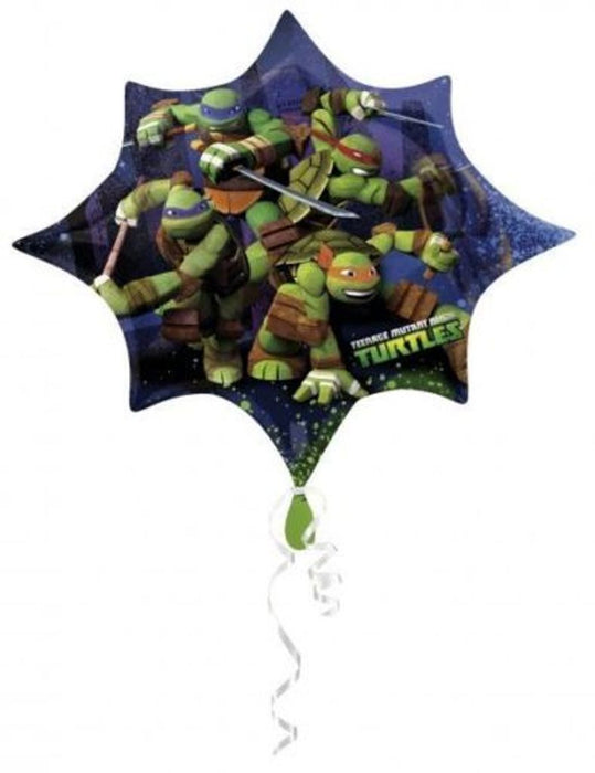 "Teenage Mutant Ninja Jumbo 35"" inch SuperShape Foil Mylar Balloon"