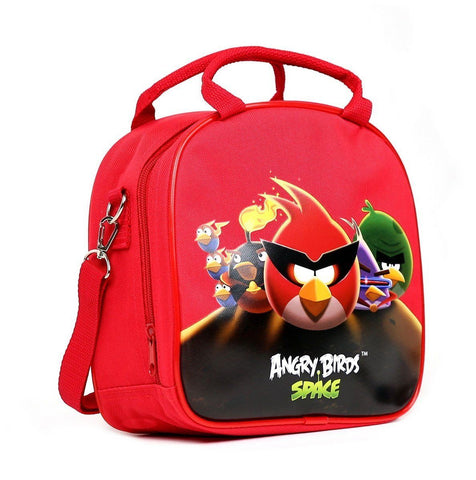 Rovio Angry Bird Shoulder Strap Red Insulated Lunch School Bag