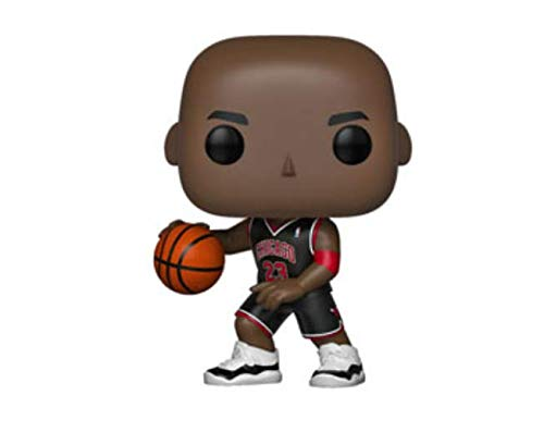POP! NBA Bulls Michael Jordan Vinyl Figure (Black Jersey) #55 Exclusive Big Boy Stickers