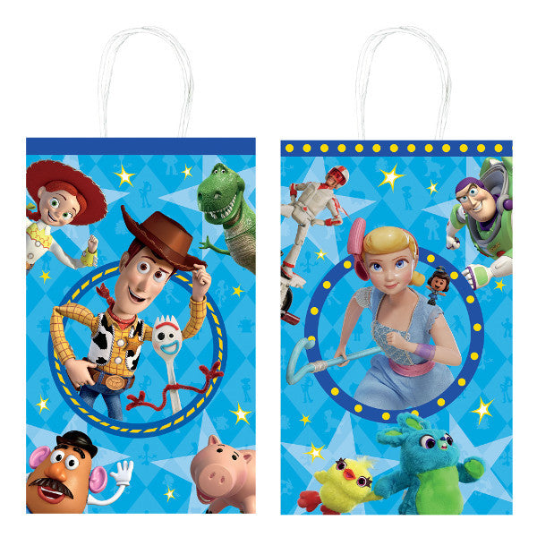 Toy Story Kraft Bags 8ct