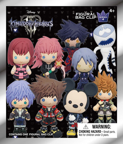Disney: Kingdom Hearts - 3D Figural Keyring Blind Bag