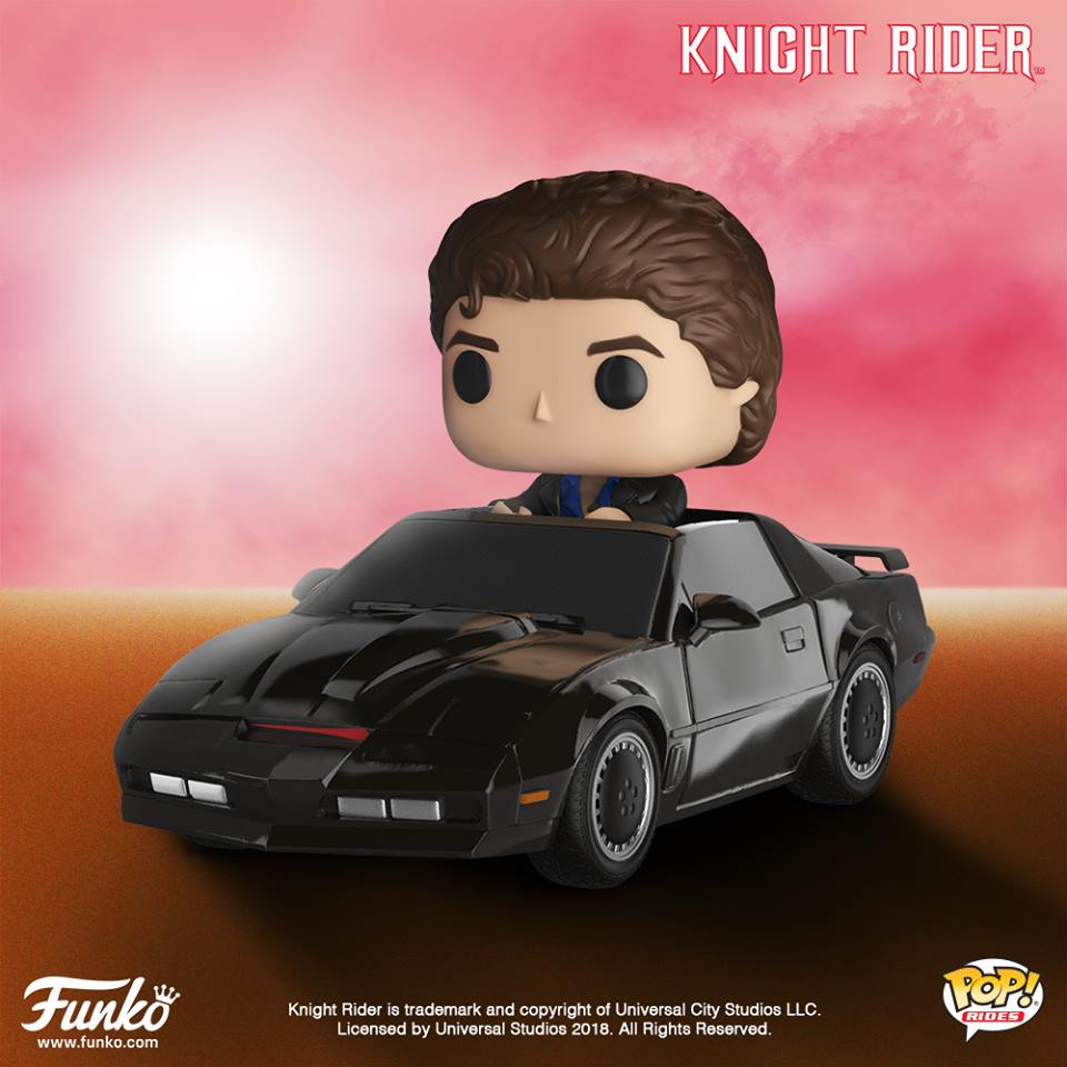 Pop! Rides: Knight Rider – Michael Knight with Kitt #50