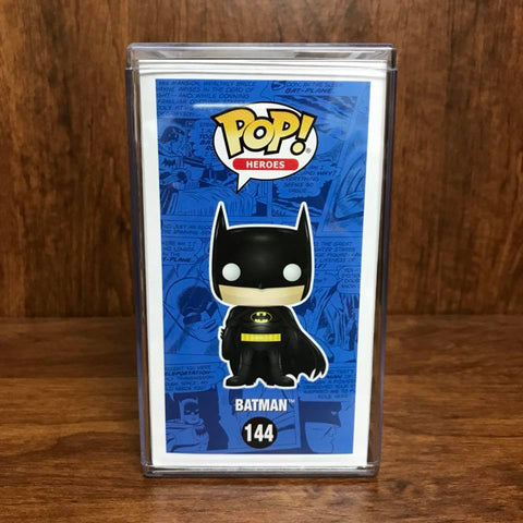 Pop Heroes : 2017 Toy Tokyo Exclusive : BATMAN Blue Chrome #144 Vinyl