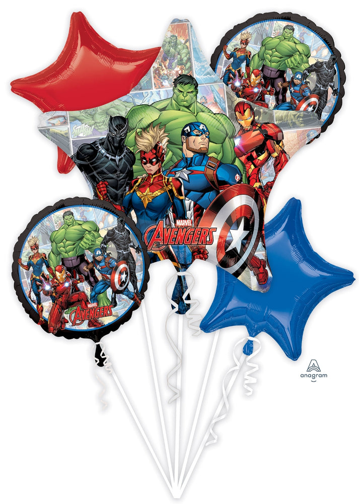 Avengers End game Balloon Bouquet 5pc