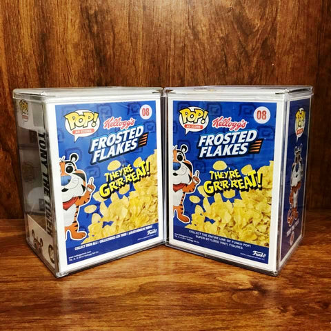 Pop AD ICONS - Frosted Flakes - Tony the Tiger Set of 2 Vinyl Figure
