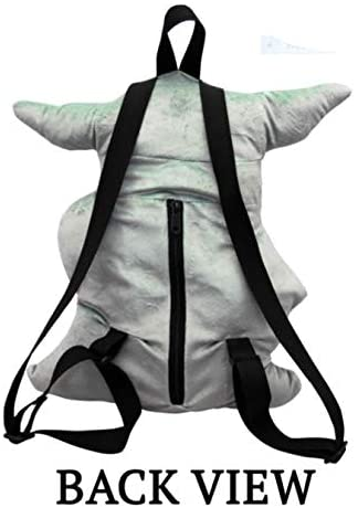 "Star Wars: The Mandalorian - ""The Child"" Baby Yoda 3D Plush Backpack 16"""