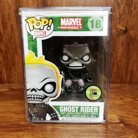 Pop SDCC 2013 - Marvel - Ghost Rider Metallic #18 Vinyl Figure