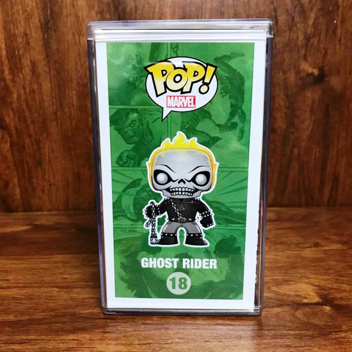 Pop SDCC 2013 - Marvel - Ghost Rider Metallic #18 Vinyl Figure Near Mint