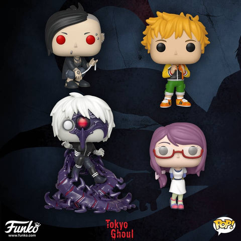 PRE-ORDER Pop Animation : Toyko Ghoul - Set of 4 Vinyl Figure