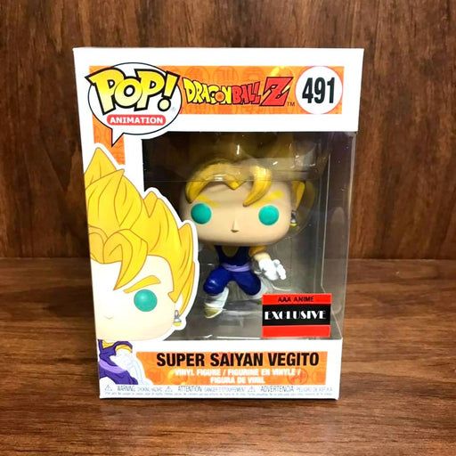 Funko Pop! Animation AAA Exclusive: Dragon Ball Z - Super Saiyan Vegito Vinyl Figure