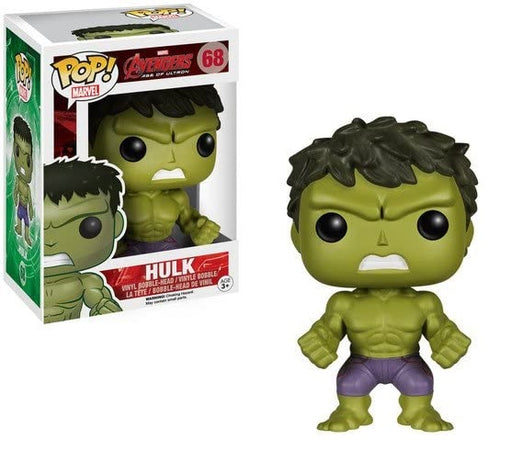 FUNKO POP! Marvel Avengers Age of Ultron- HULK Vinyl Figure #68