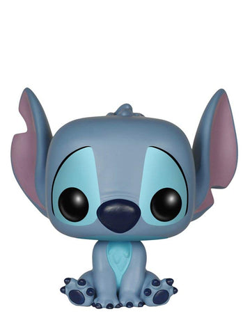 Funko Pop! Disney: Seated Stitch #159 with .5mm Protector case