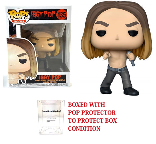 Funko Pop! Rocks: Iggy Pop - Iggy Vinyl Figure #135
