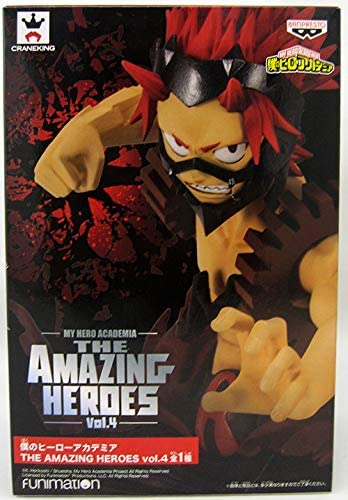 Banpresto 39346 My Hero Academia The Amazing Heroes Vol. 4 Eijiro Kirishima Figure