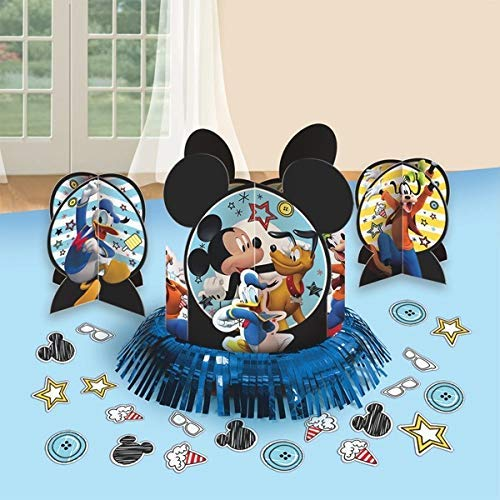 Mickey Mouse on the go Assorted Table Decorating Kit Decoration Party Supplies