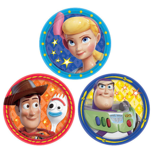 Toy Story 4 Dessert Plates 8ct